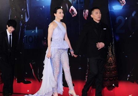 Lưu Gia Linh sánh đôi cùng ông xã Lương Triều Vỹ