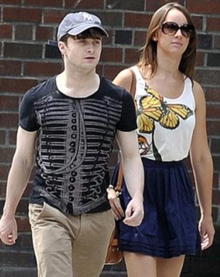 Daniel và Erin phải lòng nhau từ lần hợp tác trong bộ phim