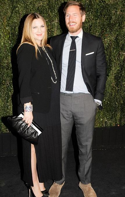 Drew Barrymore và chồng vừa đón thêm con gái thứ hai, bé được đặt tên là Frankie