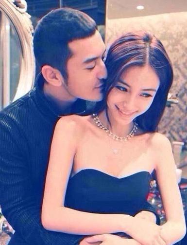 Hình ảnh ngọt ngào của cặp tình nhân nổi tiếng xứ hương cảng Angelababy và Huỳnh Hiểu Minh.