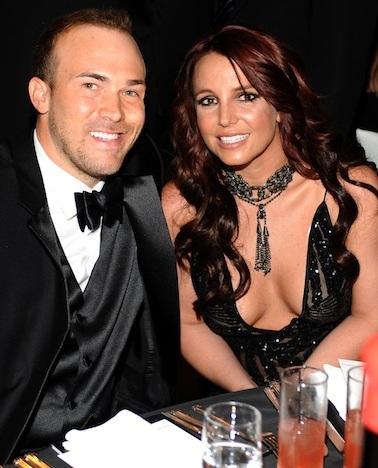 Britney Spears và bạn trai một năm - David Lucado