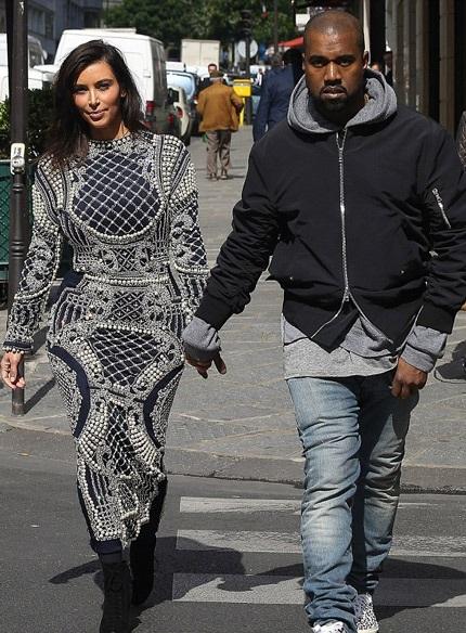 Kim và Kanye đã dồn rất nhiều thời gian để chuẩn bị cho đám cưới tại Pháp