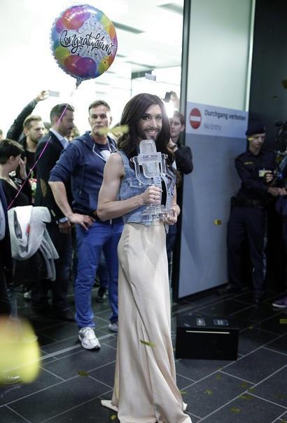 Conchita Wurst giờ không chỉ nổi tiếng tại quê nhà mà còn khắp thế giới.