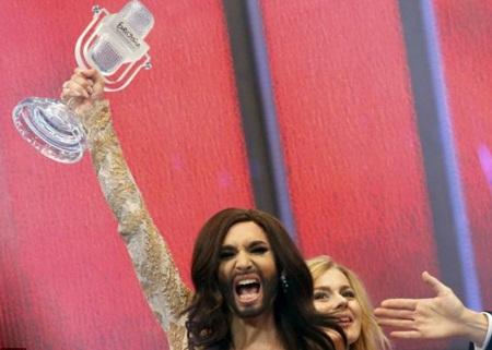 Conchita Wurst trở thành quán quân của cuộc thi