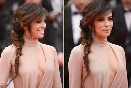 Eva Longoria là gương mặt quảng cáo của nhãn hiệu L'Oreal