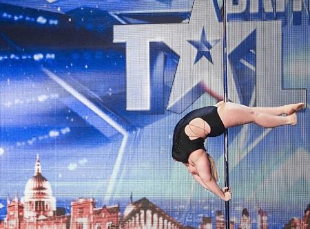 Emma Haslam - thí sinh đặc biệt trong vòng loại của cuộc thi Britain's Got Talent năm 2014.