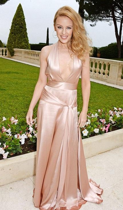 Kylie Minogue sành điệu tại Cannes