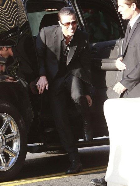 Brad Pitt tới dự buổi ra mắt bộ phim mới của Angelina Jolie -