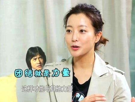 Kim Hee Sun của trước đây (trái) và hiện tại