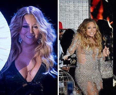 Mariah Carey gợi cảm hết cỡ