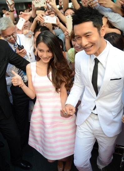Huỳnh Hiểu Minh khoe bạn gái xinh đẹp Angela Baby