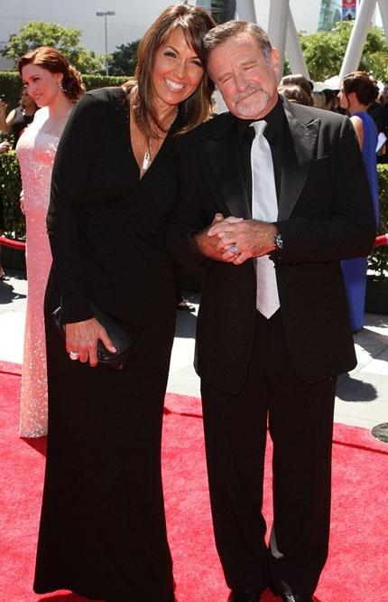 Robin và người vợ thứ ba - Susan Schneider mới chung sống được gần 4 năm trước khi ông tự vẫn.