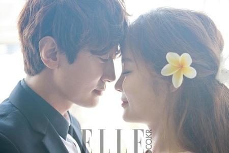 Chae Rim hạnh phúc bên bạn trai người Trung Quốc Cao Tử Kỳ trong bộ ảnh cưới lãng mạn.