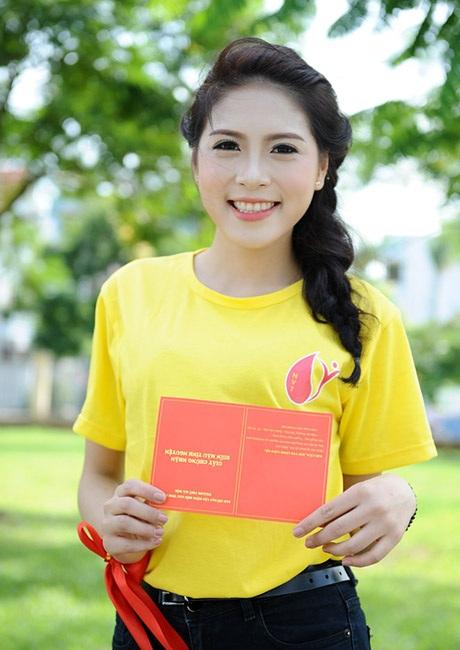 Nụ cười rạng rỡ của Á hậu Lò Thị Minh