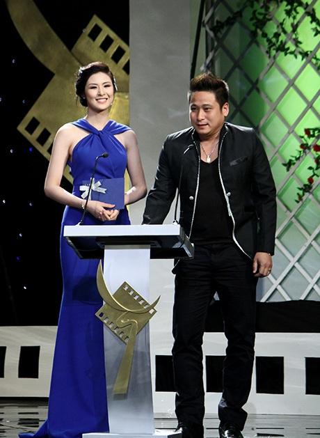 Hoa hậu Ngọc Hân và diễn viên Minh Tiệp là khách mời công bố giải thưởng