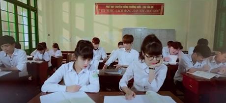MV lấy bối cảnh là trường THPT Chu Văn An