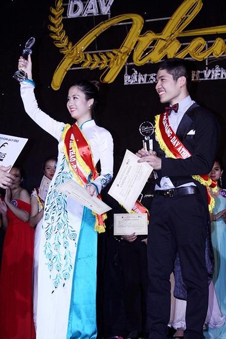 Hoa khôi Thuý Hằng và Hoa vương Thanh Chung