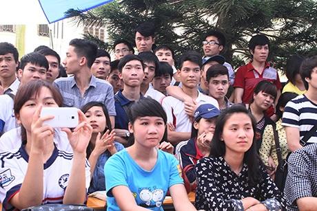 Chương trình thu hút đông đảo sinh viên ĐH Công nghiệp tới theo dõi