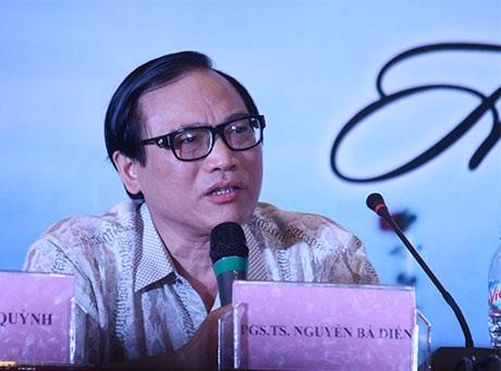 """PGS.TS Nguyễn Bá Diến khẳng địnhphải sử dụng cây """"nỏ thần"""" là luật pháp quốc tế để đấu tranh"""