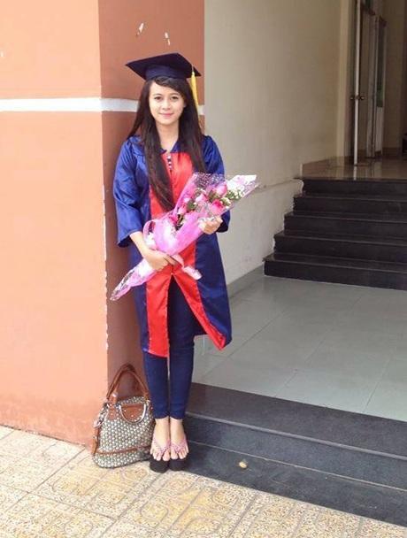 Cô giáo 9x ngày tốt nghiệp đại học