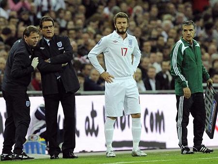 Dưới triều đại Capello, tuyển Anh dễ dàng có vé tham dự World Cup 2010
