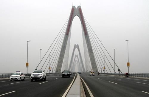 Lễ thông xe cầu Đồng Trù và đường 5 kéo dài