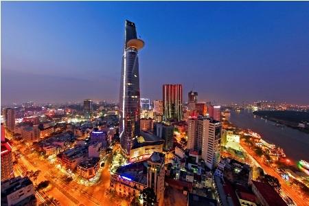Tòa tháp Bitexco Financial Tower tại TPHCM