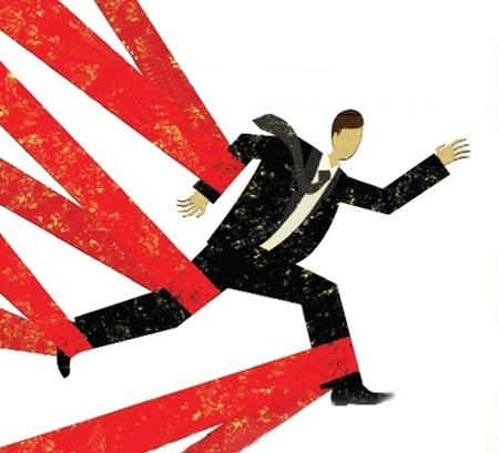 Quá trình phát triển của doanh nghiệp đang bị cản trở bởi nhiều yếu tố phi kinh doanh