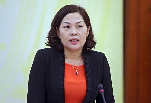 Phó Thống đốc NHNN Nguyễn Thị Hồng (ảnh: SBV)