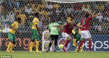 Những nỗ lực của Morocco là chưa đủ để giúp họ giành vé