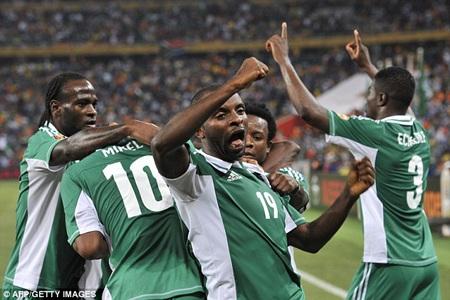 Bàn thắng duy nhất của Sunday Mba đã làm nên sự khác biệt của trận chung kết