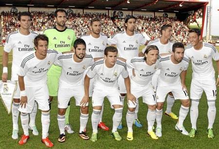 """Real Madrid """"đánh tennis"""" trong trận đầu tay của Ancelotti"""
