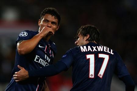 Maxwell sắp có cơ hội sát cánh cùng đồng đội ở PSG Thiago Silva tại ĐTQG ở tuổi 31