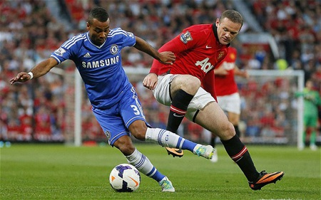 """Rooney đã trở lại với hình ảnh một """"Quỷ đỏ"""" đích thực khi chạm trán Chelsea"""