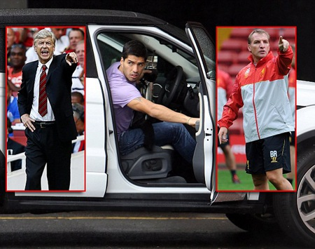 Chuyện tay ba Suarez - Liverpool - Arsenal vẫn đang diễn biến rất phức tạp