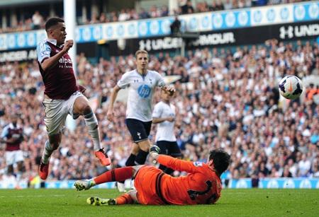 Sự xuất sắc của Morrison đã góp công lớn giúp West Ham tạo nên một cơn địa chấn ở White Hart Lane