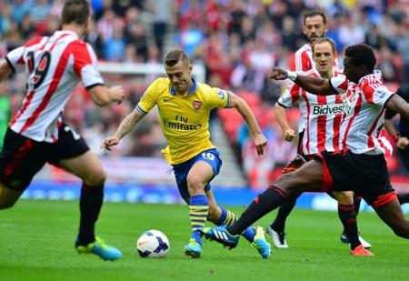 Cuộc tiếp đón Sunderland là cơ hội cho Arsenal tìm lại cảm giác chiến thắng ở Premier League