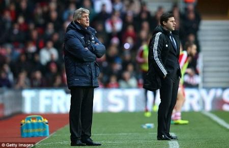 Thầy trò Pellegrini sẽ có thắng lợi Southampton để yên tâm chờ đợi Liverpool hay Chelsea sảy chân?