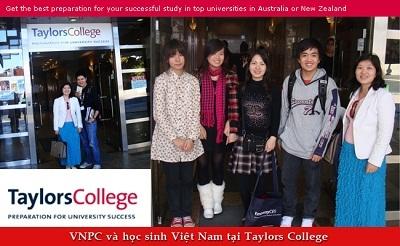 Hội thảo Taylors College Auckland - Đăng ký phỏng vấn học bổng và gặp gỡ cựu sinh viên xuất sắc của trường - 1