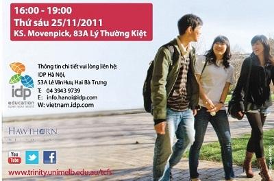 """Ngày thông tin đặc biệt dành cho sinh viên tiềm năng và lễ trao giải """"Young Leader Award - Học bổng nhà lãnh đạo trẻ 2011"""" - 1"""