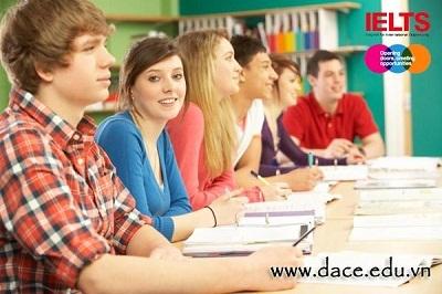 Thi thử IELTS chuẩn Quốc tế miễn phí với trung tâm Anh ngữ DACE - 1