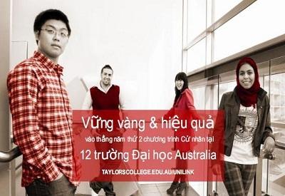Hội thảo: Taylors Unilink - Cơ hội học bổng và vào thẳng năm 2 các trường ĐH Úc - 1