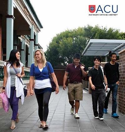 Hội thảo du học Úc: Đại học Australian Catholic - 1