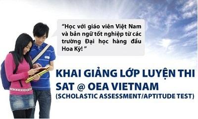 Luyện thi SAT @ OEA Vietnam - Rộng mở cơ hội học bổng du học Mỹ! - 1