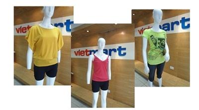 Độc đáo đồng giá thời trang du lịch hè GIA ĐÌNH tại siêu thị Vietmart