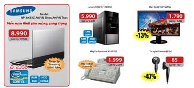 Nhiều khuyến mại mừng khai trương siêu thị Phúc Anh - Trần Duy Hưng