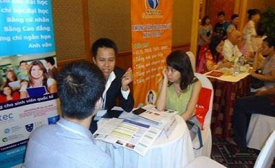 Hội thảo du học các nước của Công ty New Ocean diễn ra tại Hà Nội - 2012