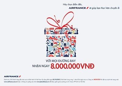Chương trình ưu đãi cực lớn từ Air France
