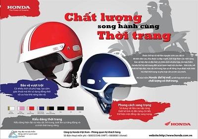 Honda Việt Nam giới thiệu mũ bảo hiểm cao cấp thế hệ mới