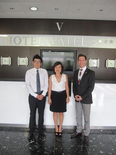 Đại diện BB Edelweiss công ty Cầu Xanh tới thăm và làm việc trực tiếp tại Vatel Switzerland.